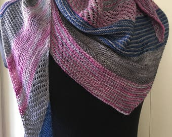 September Sky Shawl Pattern PDF