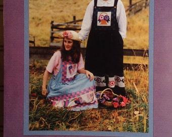K .P .Kid's & Co. Misses Jumper Dress Pattern Uncut Sizes 8 - 22