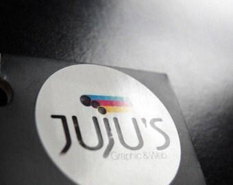 Custom Business Logo Labels (pack of 24)