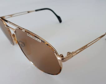 Vintage Longines 187 652 sunglasses. Made in Germany