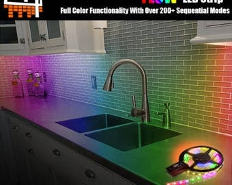 Waterproof RGB LED Strip Wireless Bluetooth Kit Magic Light Controller iOS Android DC5V~24V WS2811 WS2812 Individually Addressable  Dream