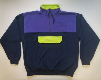 "Vintage ""Montgomery Athletic Wear"" Fleece Jacket"