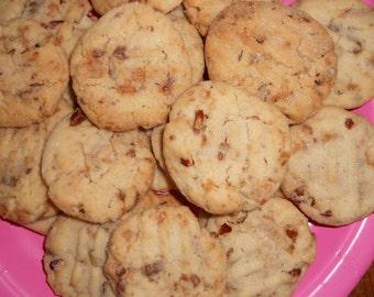 Best Pecan Sandies Cookies/ Pecan Sandies/ 2 Dozen/ Homemade/Holiday Cookies/ Party Cookies/Homemade Cookies/Pecan Cookies/Baked Goods