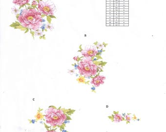 70490-A Minimum order 100.00 Euro. Ceramic decals. Pattern selection.