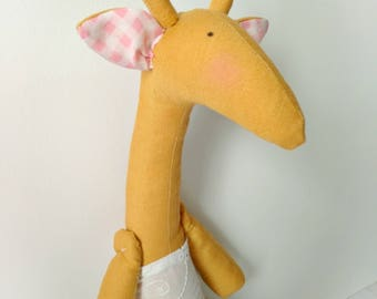Stuffed Giraffe Toy | Plush Giraffe | Baby  Shower Gift | Children's Giraffe Toy | Todler Toy | Stuffed Animal
