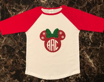 Monogrammed Mickey/Minnie Shirt