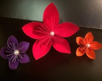 Single Paper Origami Kusudama Flower
