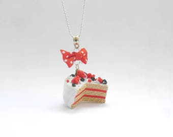 fruit cake necklace