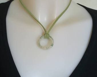 Suede necklace, sale