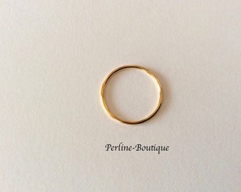 Spacer ring in 14 k gold filled 16mm