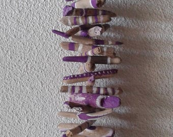 Driftwood Garland purple