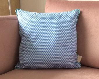 Tri Blue Candy - Cushion Cover