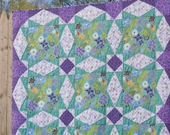 Taffy quilt pattern from Jaybird Quilts