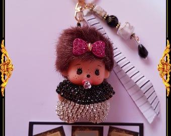 Mini kiki door keys or bag charm