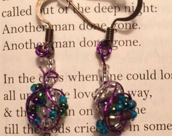 Mermaid Cluster Earrings