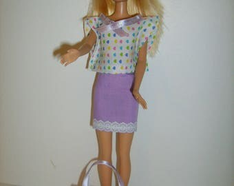 Clothes for barbie type doll