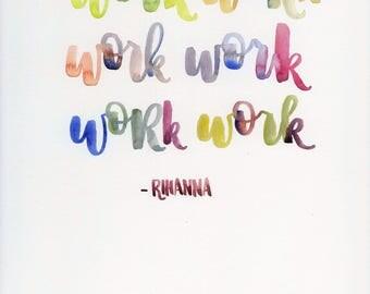 Work Work Work Work Work Work
