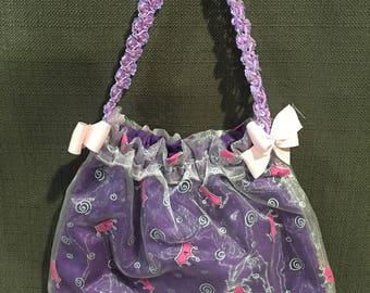 "Ballerina Shoe bag - ""Crown of Gold"""
