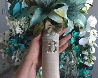 Custom Wedding Pieces, Bouquets, Flowergirl Dresses, Card Box