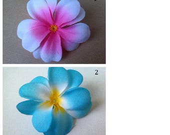 set of 2 fabric flower