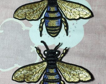 Sew on patch, Big bee patch