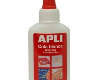 Colle blanche 40 Gr - APLI - Ref 12848 ---------- Jusqu'à épuisement du stock !