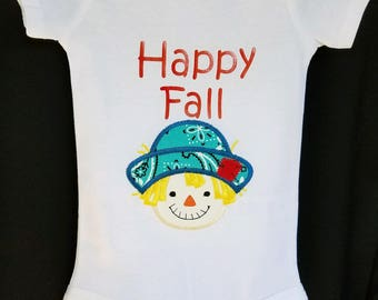 Happy Fall Onesie for Girl or Boy