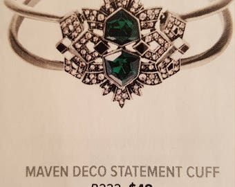 Chloe and Isabel Maven Deco Statement Cuff Bracelet