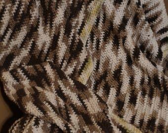 Lightweight Crochet Throw Blanket