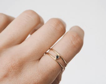 Stacking Ring, Gold Ring, Silver Ring,  delicate ring, dainty ring, minimalist jewellery, R074