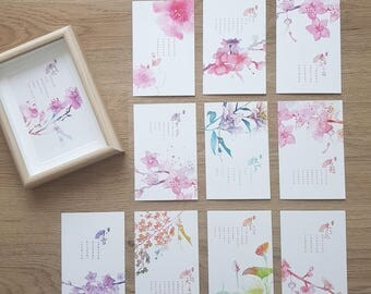 Oriental Flowers and Poetry
