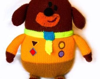 Hey Duggee Knitting Pattern (Digital Download) - OOGH004