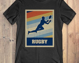 Rugby T-Shirt Gift: Vintage Style Rugby