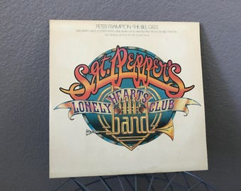 1978 Sgt. Pepper's Lonely Hearts Club Vintage Vinyl