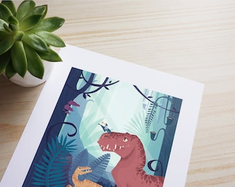 Rilex and the friends ~ High quality print