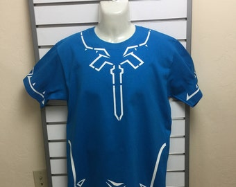 The Legend Of Zelda Breath Of The Wild T-Shirt Turquoise