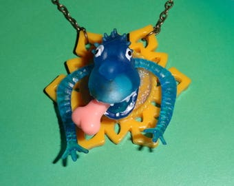Trophy: Mars Monster blue (pendant on chain)