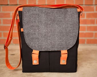 Custom Campfire Messenger Bag - Messenger Bag - Bag - Purse