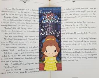 Belle - Bookish Bookmark