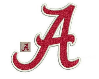 Alabama Embroidery Design - 4 sizes instant download