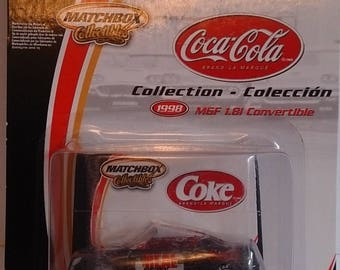 Matchbox Coca Cola 50th Anniversary 2002 MGF 1.8i 1:64
