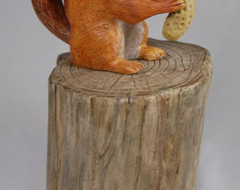 Carved Chipmunk