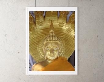 Buddha statue printable art