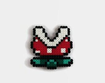 Super Mario Piranha Plant, Perler Magnet//Geeky Gift//Perler//Hama Beads//Gamer Gifts//Home Decor//Geeky Decor//Small Gifts//Perler Art