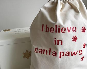 Personalised Pet Santa Sack