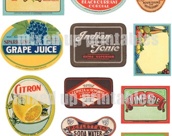 Mixed Up Printables - Drinks Labels#1