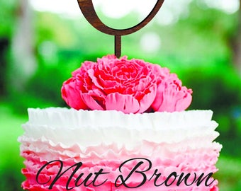 Сake topper C Wood Monogram Initial cake toppers Single letter C cake topper Monogram cake topper for wedding gold cake topper C H J O E W R