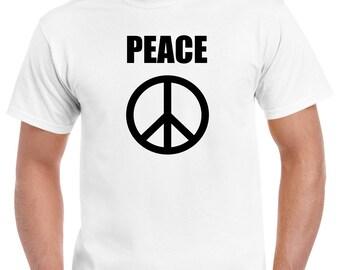 Peace t shirt - Hippy - Spiritual - Gift - Love