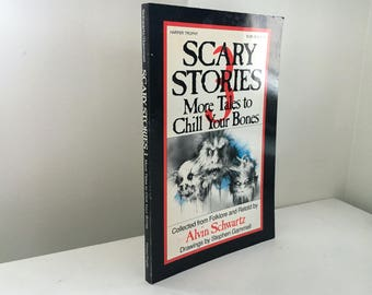 Scary Stories 3: More Tales to Chill Your Bones by Alvin Schwartz (1991 Paperback)