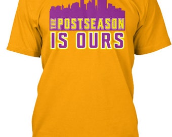 Minnesota Vikings Post Season is Ours Playoffs Tee